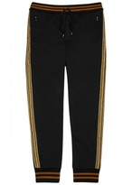 Dolce & Gabbana Black Cotton Jogging Trousers