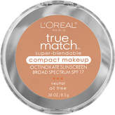 L'Oreal True Match Super-Blendable Compact Makeup, SPF 17
