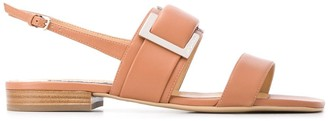 Sergio Rossi Prince slingback leather sandals