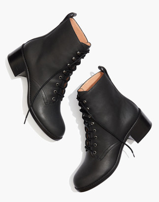 Madewell The Patti Lace-Up Boot
