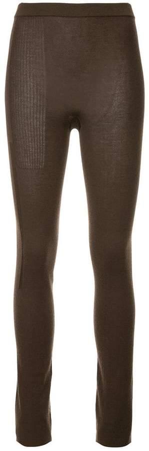 Rick Owens knitted leggings