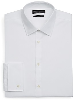 The Men's Store at Bloomingdale's White Textured Dress Shirt - Regular Fit - 100% Exclusive