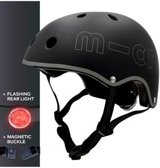 Micro Deluxe Scooter Helmet, Black, Medium
