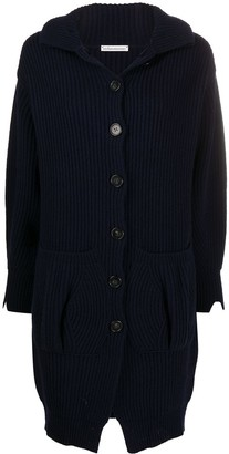 Stefano Mortari Button Up Cable Knit Cardigan