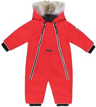 Canada Goose Kids Baby Lamb down snowsuit