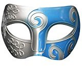 Wensltd Retro Roman Gladiator Swordsman Halloween Party Mask Mardi Gras Masquerade (H)
