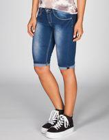 YMI Jeanswear Womens Denim Bermuda Shorts