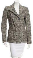 Balenciaga Notch-Lapel Patterned Jacket