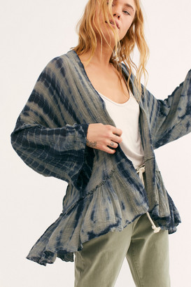 Free People Sasha Tie-Dye Short Duster