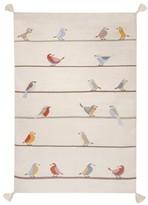 ART FOR KIDS Woollen Kilim Birds Rug