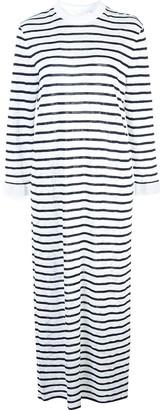 Chloé striped jersey long dress
