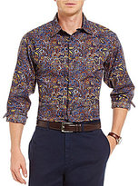 Daniel Cremieux Paisley Long-Sleeve Woven Shirt