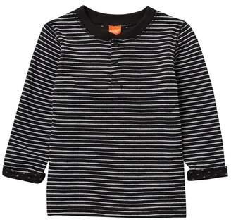 Joe Fresh Stripe Long Sleeve T-Shirt (Toddler & Little Boys)