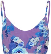 Sophie Cameron Davies Floral Blossom Silk Crop Top
