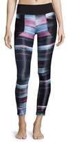 Koral Activewear Magnify Athletic Leggings, Blur/Black