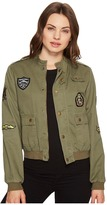 Romeo & Juliet Couture Button up Jacket with Patches