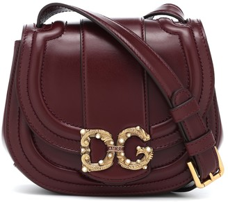 Dolce & Gabbana Amore Small leather crossbody bag