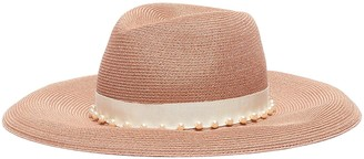 Eugenia Kim 'Emmanuelle' faux pearl straw hat