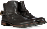 Fiorentini+Baker Fiorentini & Baker Dark Brown Leather Buckled Back Espot Boots