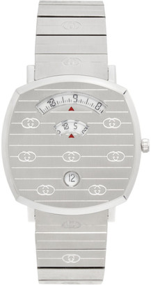 Gucci Silver Grip Watch