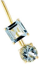 Ileana Makri Women's Aquamarine Ear Pin-GOLD