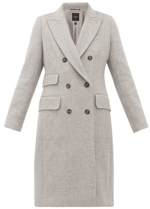 Max Mara Laringe Coat - Womens - Grey