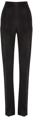 Alexander McQueen Silk Tuxedo Trousers