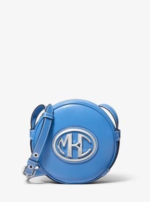 Michael Kors Monogramme Leather Canteen Crossbody Bag