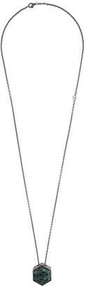M. Cohen Hexagon Pendant Necklace