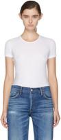 Visvim White Vintage Rib T-shirt