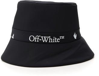Off-White Logo Rain Bucket Hat
