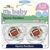 Michaelson Entertainment Pacifier, Football, 2 Count by Michaelson Entertainment