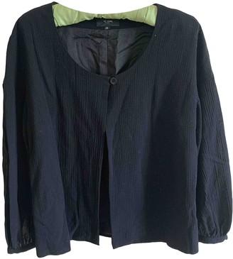 Et Vous Black Cotton Jacket for Women