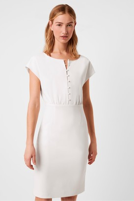 French Connection Boh Whisper Short Sleeve Dress