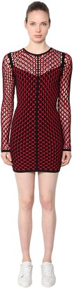 Rag & Bone Net Viscose Short Dress