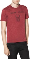 John Varvatos Born Free Graphic Tee
