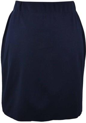 Marc Cain Navy Viscose Skirts