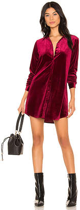 superdown Vella Velvet Mini Dress
