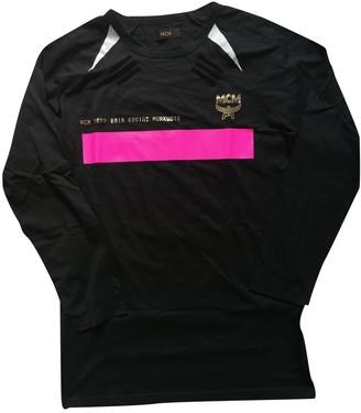 MCM Black Cotton T-shirts