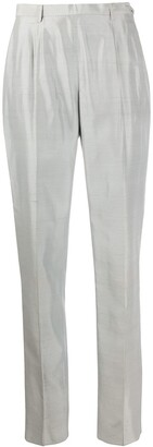 Gianfranco Ferré Pre Owned 1990s High-Waisted Tailored Trousers