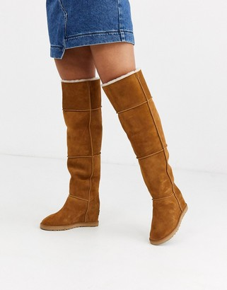 UGG Classic over the knee boots in chestnut-Tan