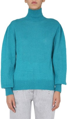 Alberta Ferretti Turtleneck Knit Sweater