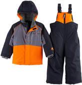 ZeroXposur Toddler Boy Heavyweight Jacket & Bib Overall Snow Pants Set