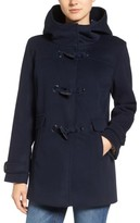 Pendleton Women's Roslyn Waterproof Lambswool Blend Hooded Coat