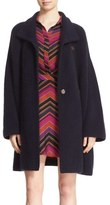 Diane von Furstenberg 'Avril' Wool Blend Topper