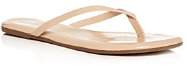 TKEES Women's Glosses Patent Leather Flip-Flops