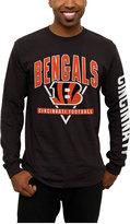 Junk Food Clothing Men's Cincinnati Bengals Nickel Formation Long Sleeve T-Shirt
