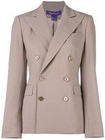 Ralph Lauren double breasted blazer - women - Wool/Spandex/Elastane/Silk - 4