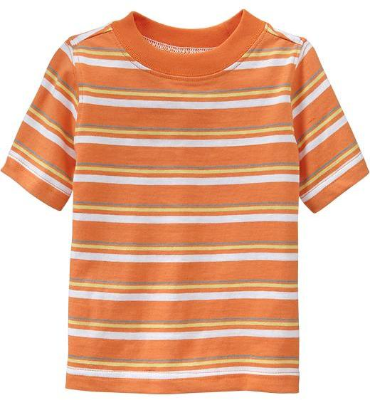 Old Navy Striped Crew-Neck Tees for Baby
