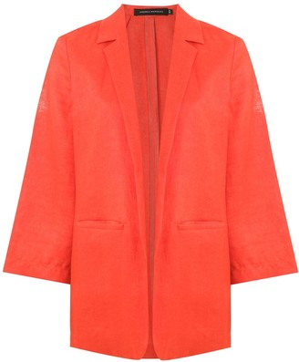 Andrea Marques Open Front Blazer